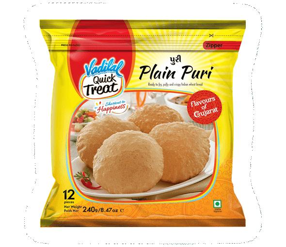 Vadilal Plain Puri(12) 20gm