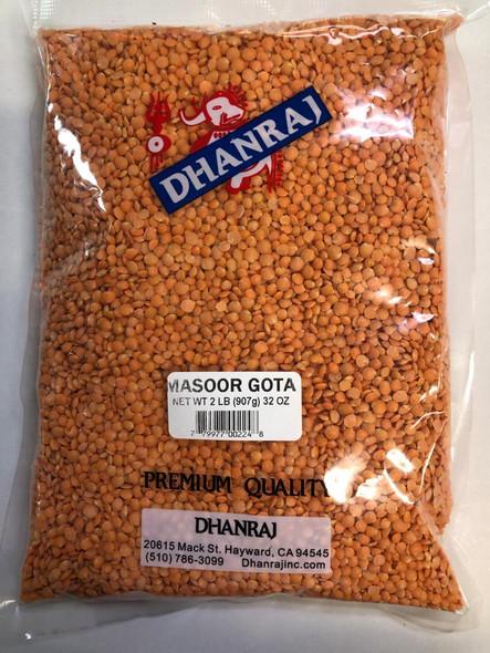 Dhanraj Masoor Gota 2lb