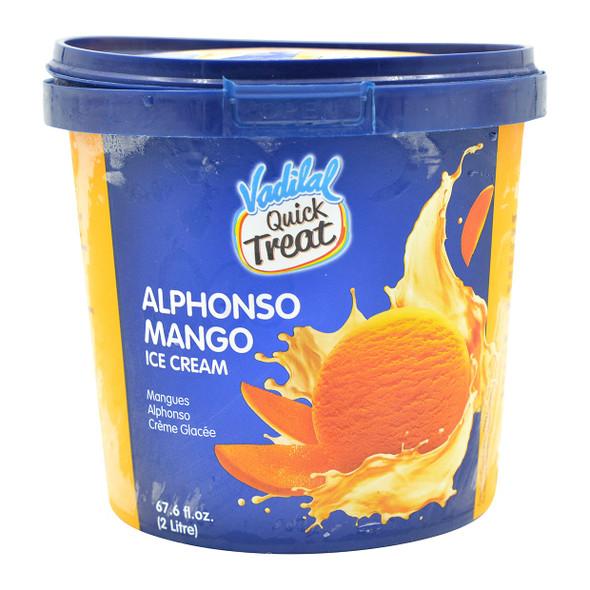 Vadilal Alphonso Mango Ice Cream 2 ltr
