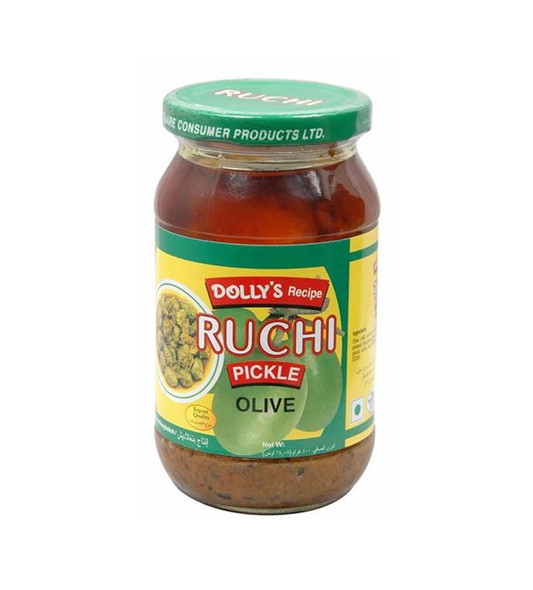 Dolly's Recipe Ruchi Pickle Olive 400gm
