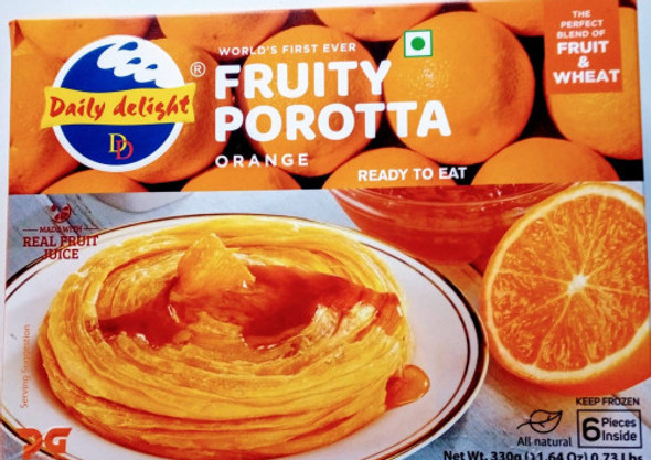Daily  Delight Orange Fruity Porotta 330gm