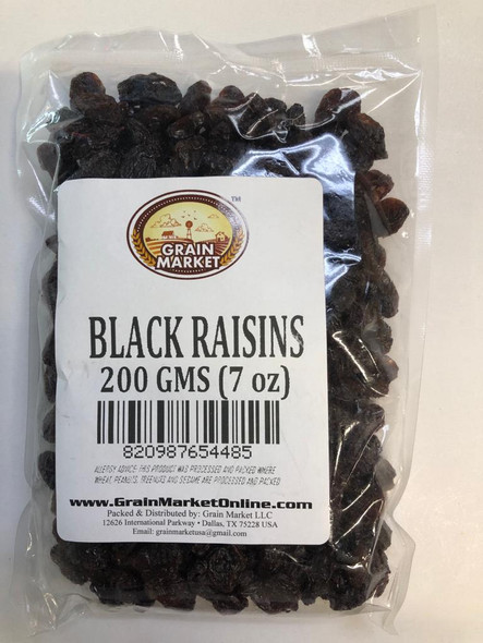 Grain Market Black Raisins 200gm