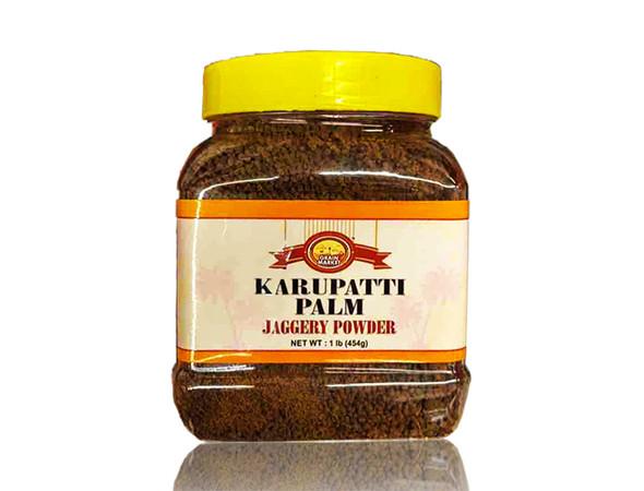 Grain Market Karupatti Palm Powder Jar 1lb