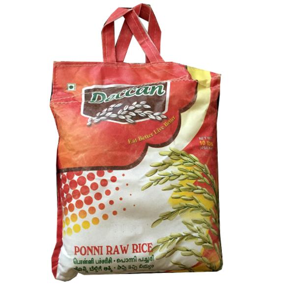 Deccan Ponni Raw Rice 20lb