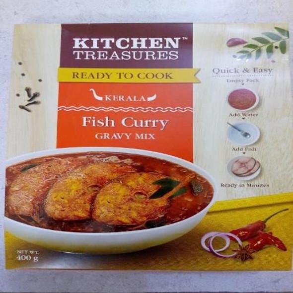 Kitchen Treasures Fish Curry Gravy Mix  - 200 g