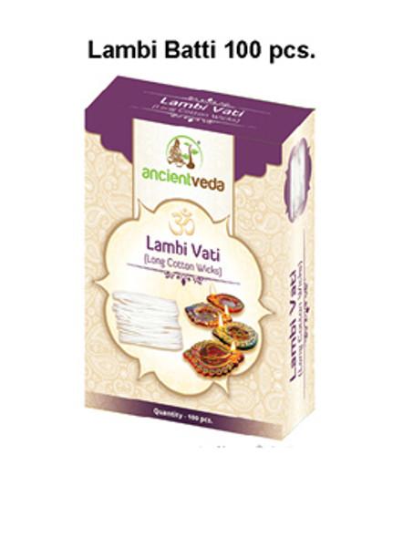 Ancient Veda Lambi Batti 100pcs
