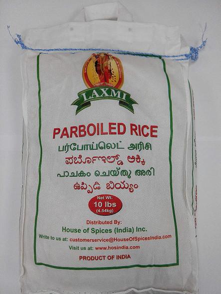Laxmi ParBoiled Rice 10LB