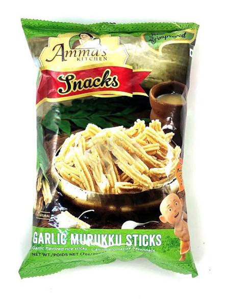 Amma's Kitchen Garlic Murukku Sticks 200gm
