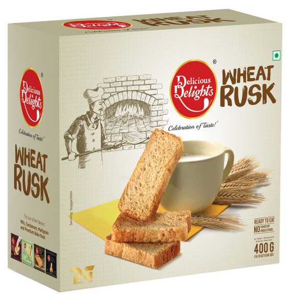 Delicious Delights Wheat Rusk 400g