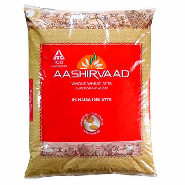Aashirvaad Whole Wheat Flour - 20LB