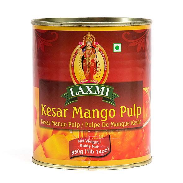 Laxmi Kesar Mango Pulp  850GM