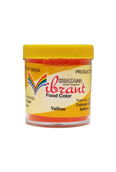 Vibrant Food Color - Yellow 25 gms