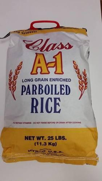 A1 Parboiled Rice - 25LB