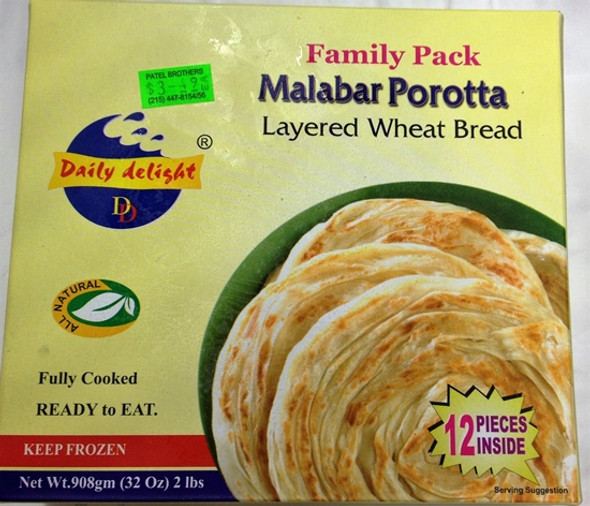DAILY DELIGHT MALABAR POROTTA FAMILY PAC 908GM