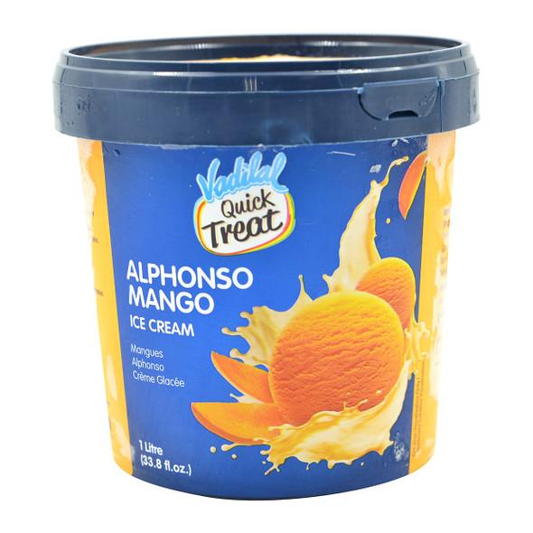 Vadilal Alphonso Mango Ice Cream 1ltr