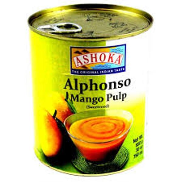 Ashoka alphonso mango Pulp - 850g