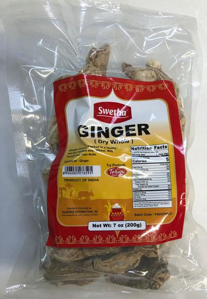 Swetha Ginger Dry Whole 200 Gms