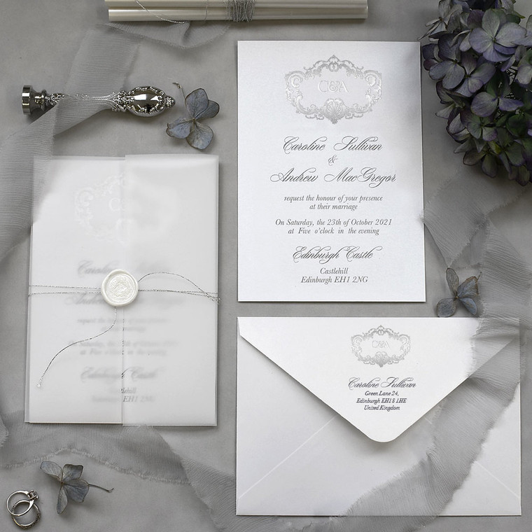 Vellum Wedding Invitations
