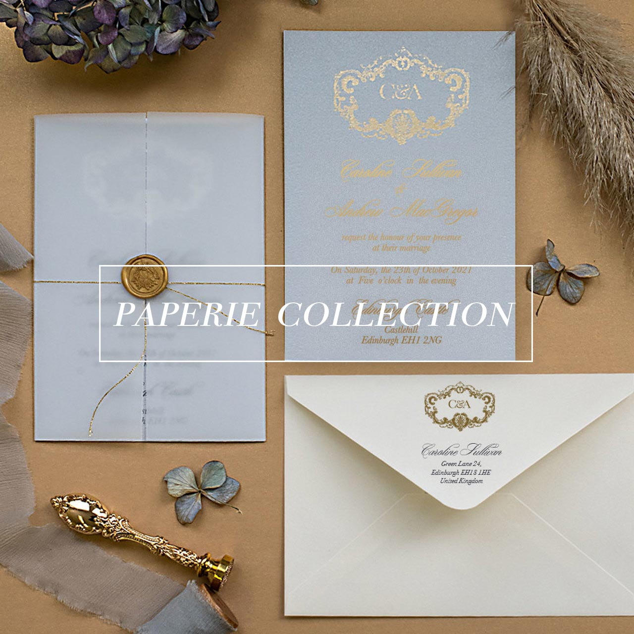 Paperie - Luxury wedding invitations
