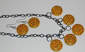 Art Deco Style Necklace Set