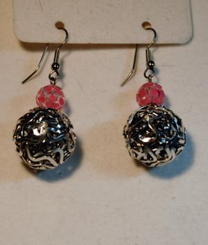 earrings closeup