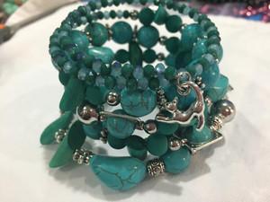 Turquoise Wrap Bracelet #2