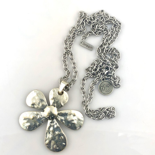"""Daisy"" Stainless Steel necklace"