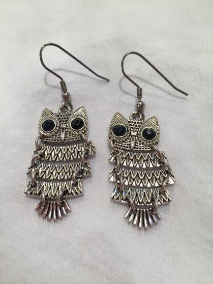 Owl earrings - small