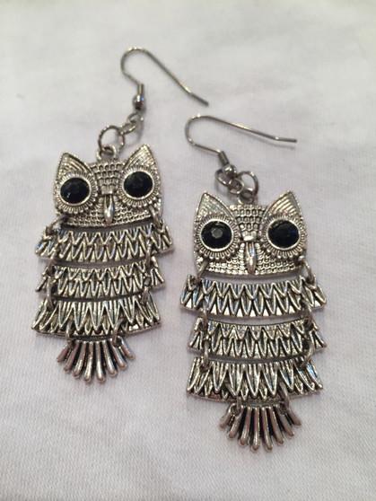 Owl earrings - Large
