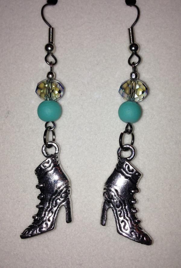 boot earrings