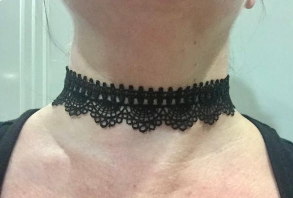 Black Lace Choker #2