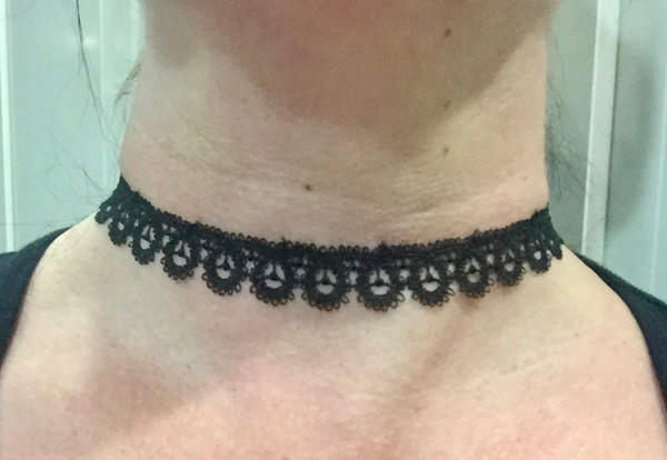 Black Lace Choker #3