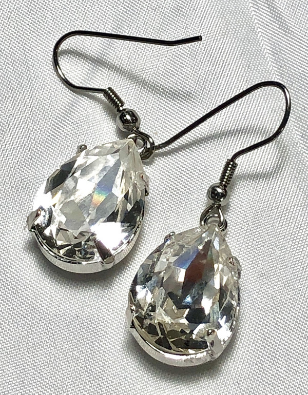 Swarovski Clear Crystal Earrings
