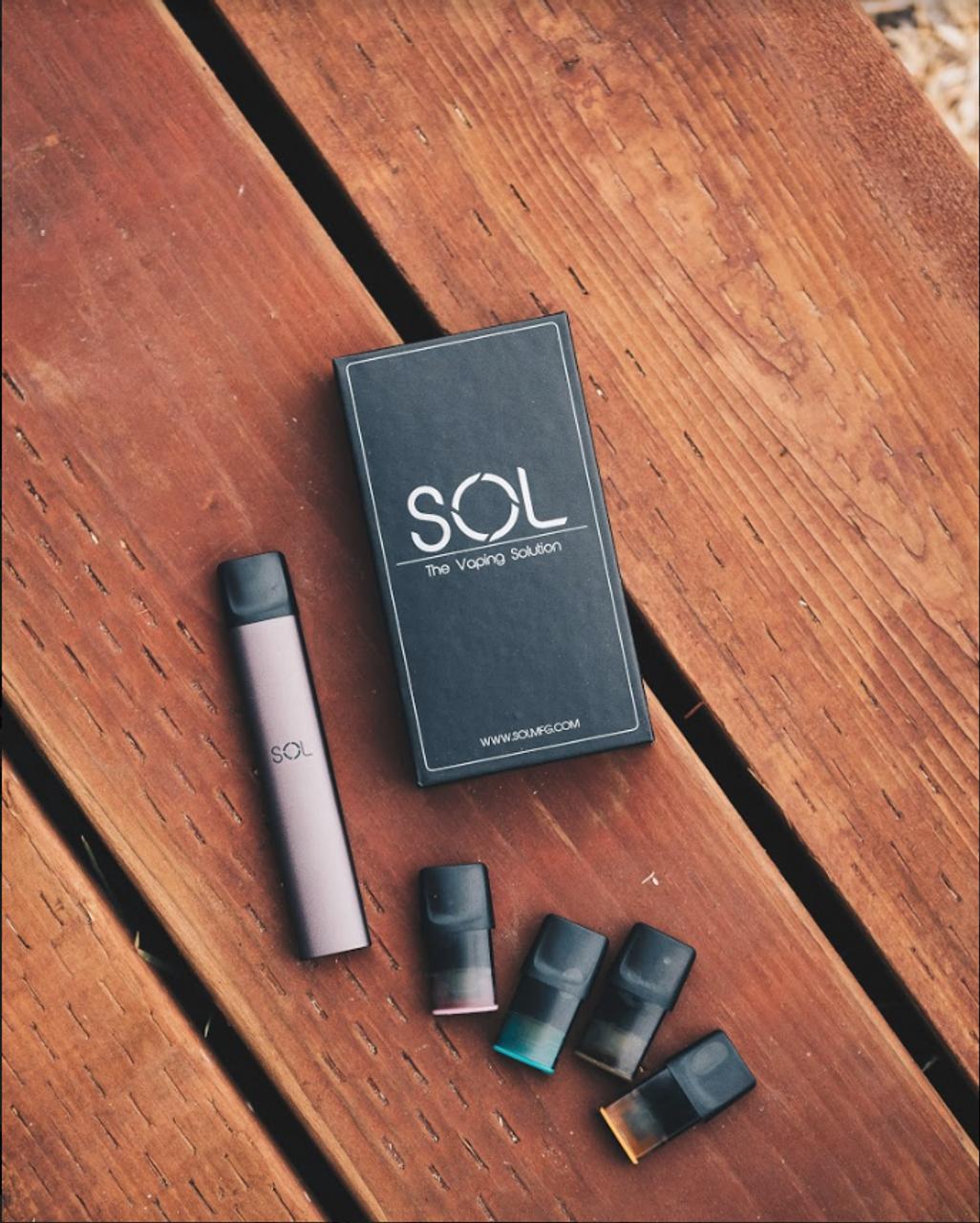 SOL Vape Pen | Portable Pod System Device