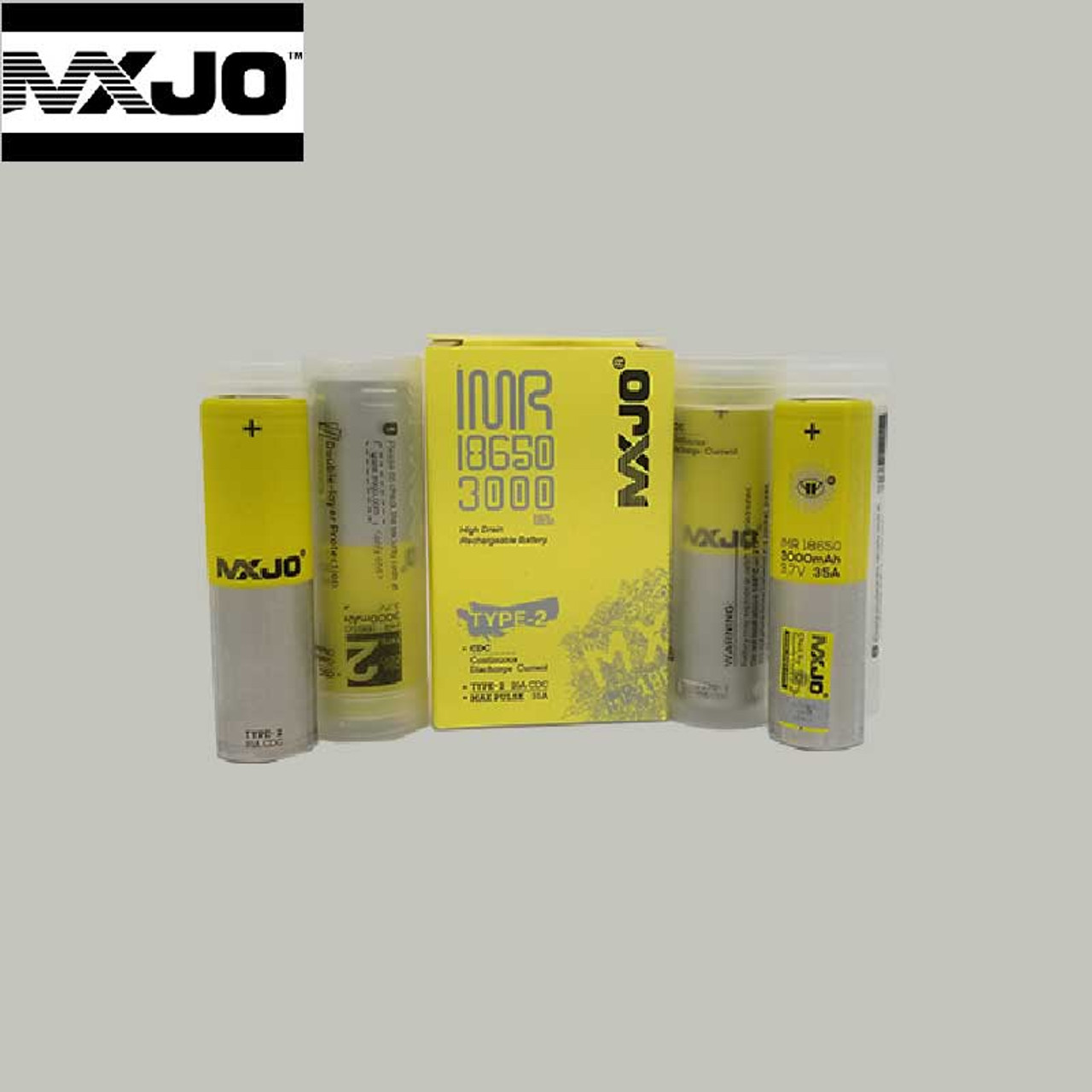 NEW NITECORE i4 Intellicharger Charger with 2 MXJO 18650 3000mah 35A batteries