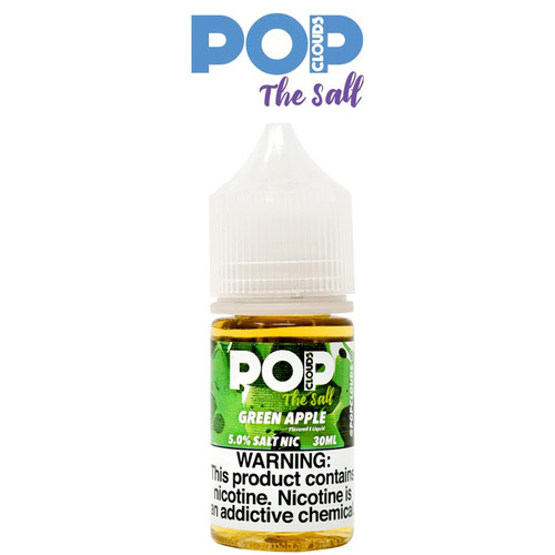 GREEN APPLE BY POP CLOUDS THE SALT | 30 ML