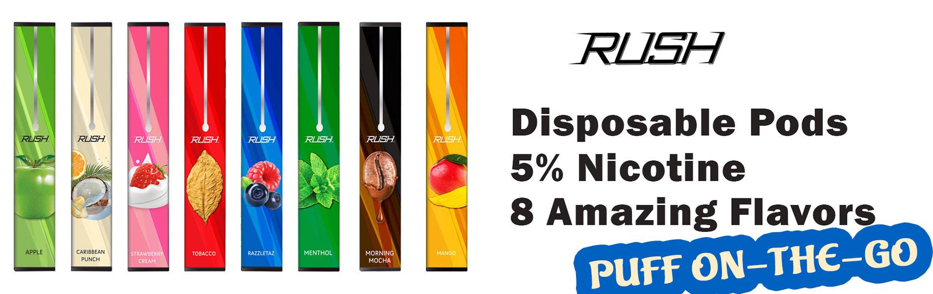 rush disposable pod vape