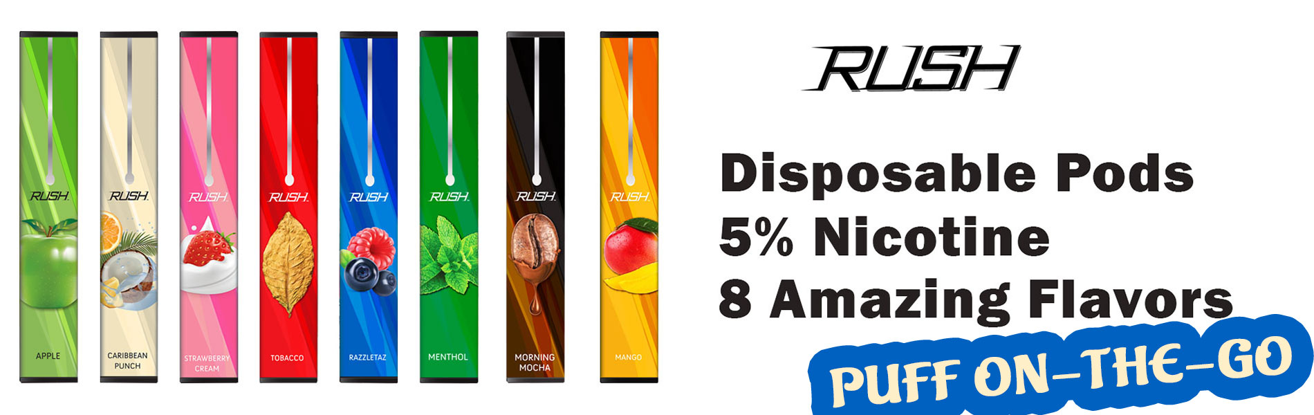 rush disposable pod vape