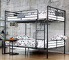 Reston Metal Full Size Bunk Beds Room