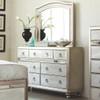 Belle Maison 7 Drawer Dresser Metallic Platinum