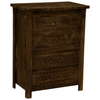 Brighton Four Drawer Chest Rustic Brown