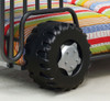 Safari Rover Jeep Bed Wheel Detail
