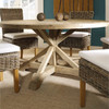 """Indio 60"""" Round Dining Table in room"""