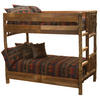 Whistler Bunk Bed Traditional Hickory full over full size