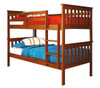 Park City Twin over Twin Bunk Bed Light Espresso