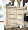 Brooke Antique White Bedside Table