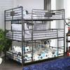 Reston Metal Triple Full Bunk Bed Room