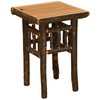 Whistler Open Nightstand Traditional Hickory
