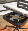Denali Black Wooden Desk Chair