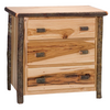Whistler Three Drawer Chest Traditional Hickory